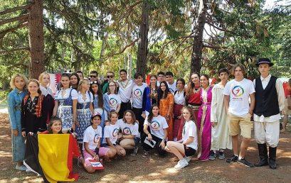 """ОЦ """"Матрешка"""" в Международном детском лагере """"Артек"""" лето 2018"""