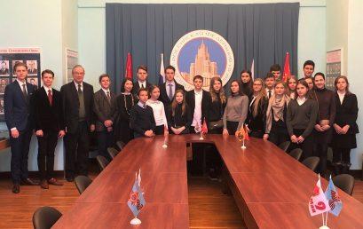 Швейцарские школьники с русскими корнями впервые стали «юными дипломатами» в России