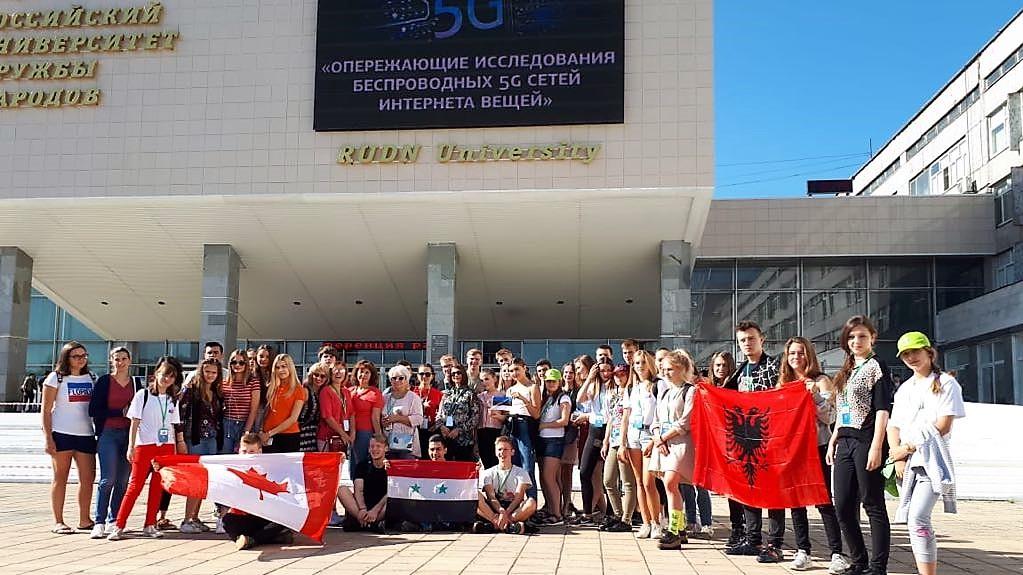 ОЦ «Матрешка» на проекте «Здравствуй, Россия!» 2018