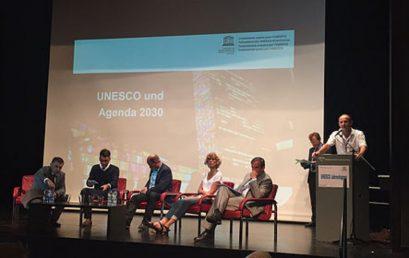 """Первые встречи школьников """"Матрешки"""" на генеральной встрече ЮНЕСКО в Швейцарии"""