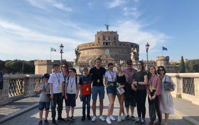 """Ученики ОЦ """"Матрешка"""" посетили вечный город Рим"""