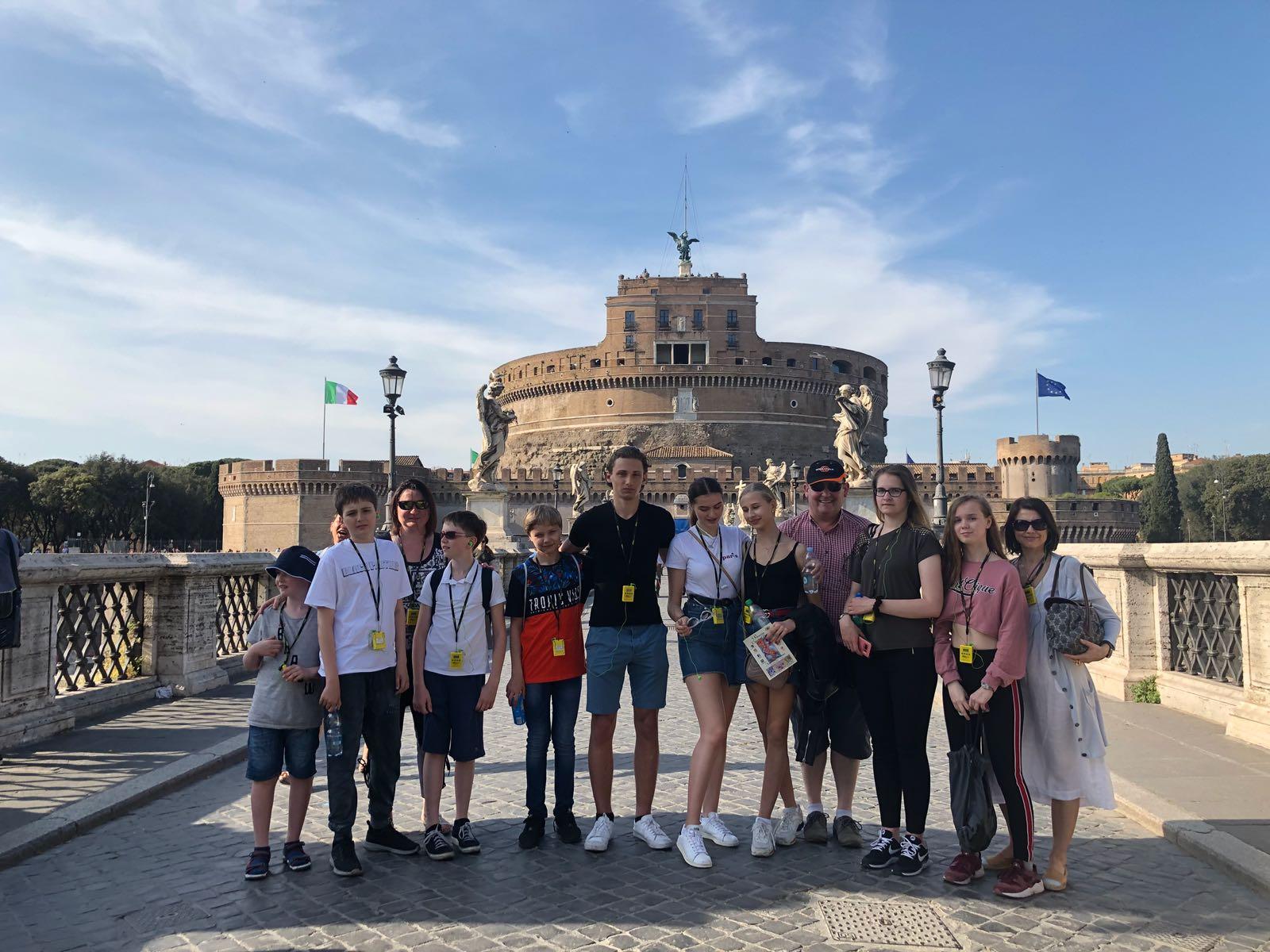 """Ученики ОСЦ """"Матрешка"""" посетили вечный город Рим"""
