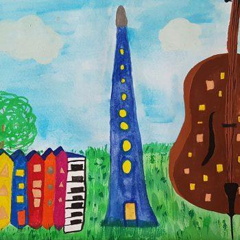 Город музыкальных инструментов