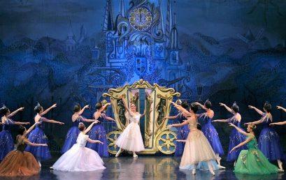 """Участие в балете """"Золушка"""" в Швейцарии"""